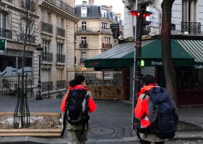 Unité locale de Paris 18 - Maraudes - Léa Roussineau - 31/03/2020