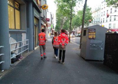 Unité locale de Paris 18 -Maraudes - Leslie Richard - 28/05/2019