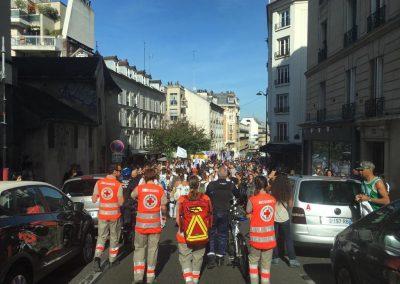 Unité locale de Paris 18 - Secourisme - Fête des vendanges - Pierre Boissonnet - 10/10/2019